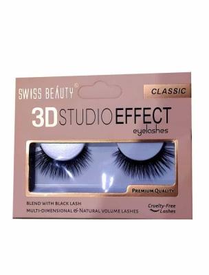 3D Studio Effect Eyelashes Classic single piece