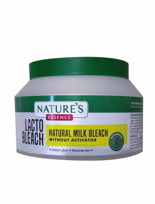 Lacto Bleach Without Activator Natures Essence